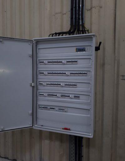 electricité armoire industrielle